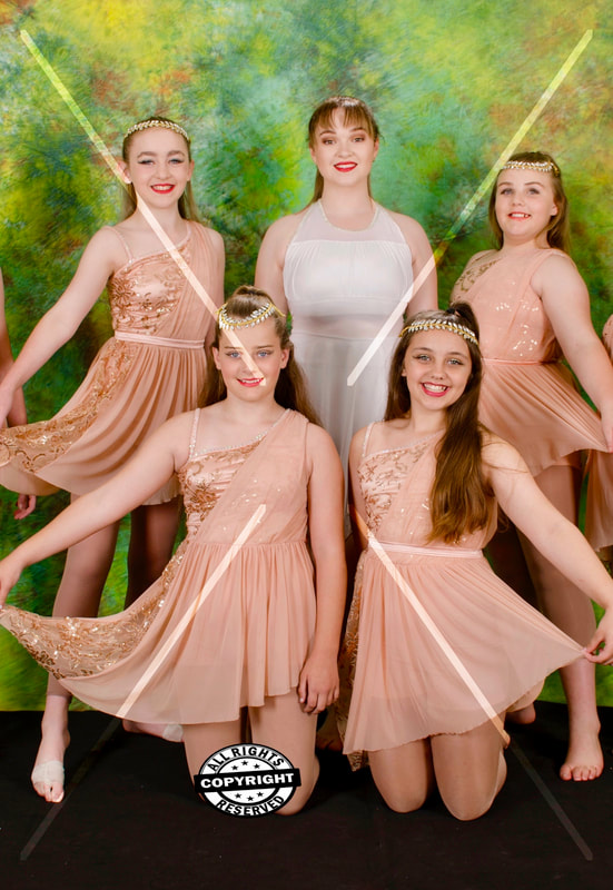 Pre Teen Lyrical Performance Troupe